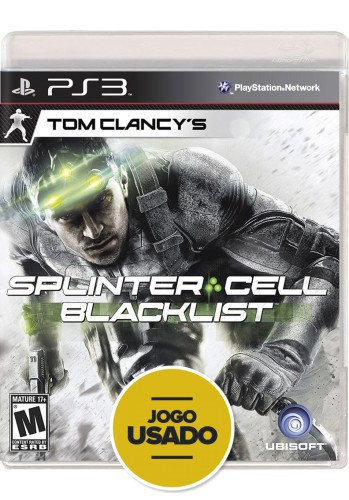 Splinter Cell: Blacklist - PS3 ( Usado )