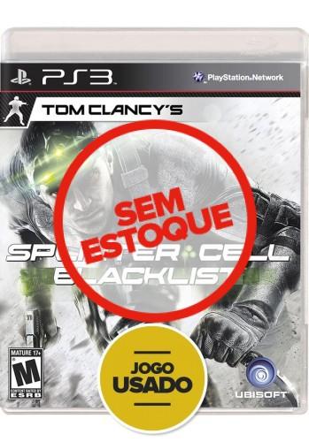 Splinter Cell: Blacklist - PS3 ( Usado )