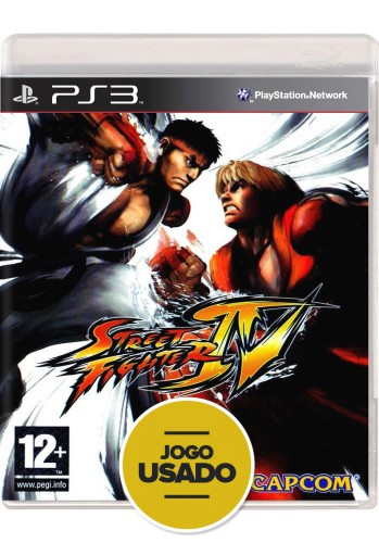 Street Fighter IV (seminovo) - PS3