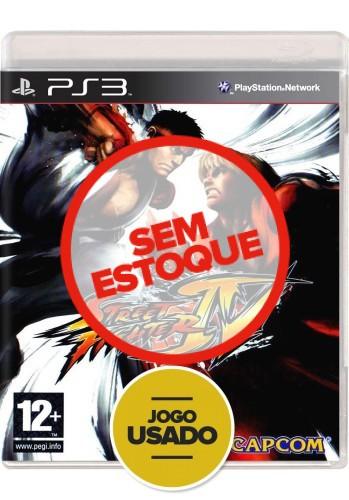 Street Fighter IV (seminovo) - PS3