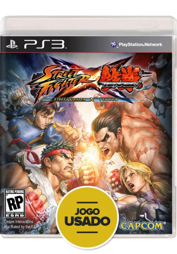 Street Fighter x Tekken (seminovo) - PS3