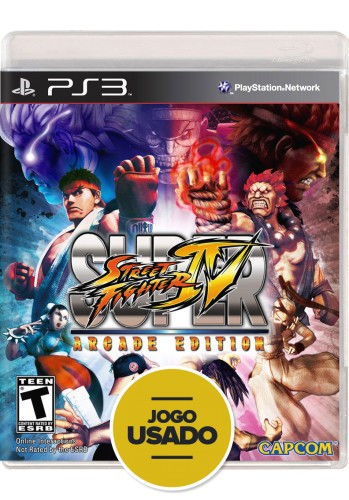 Super Street Fighter IV Arcade Edition (seminovo) - PS3