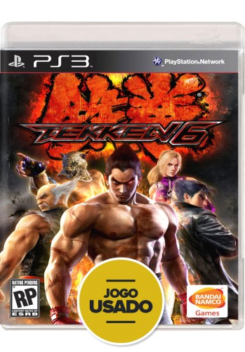 Tekken 6 (seminovo) - PS3