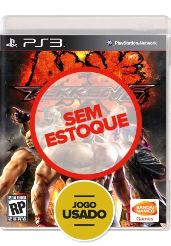 Tekken 6 (seminovo) - PS3