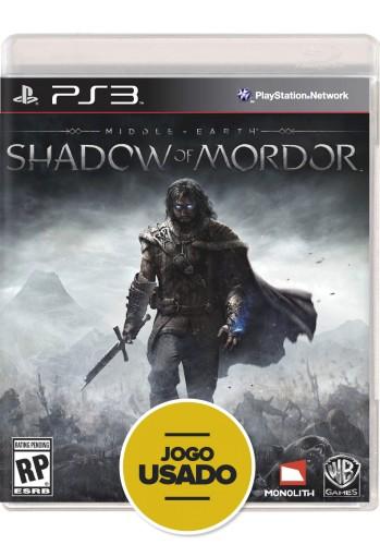 Terra-Média: Sombras de Mordor (seminovo) - PS3
