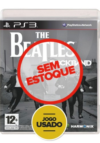 RockBand The Beatles (seminovo) - PS3