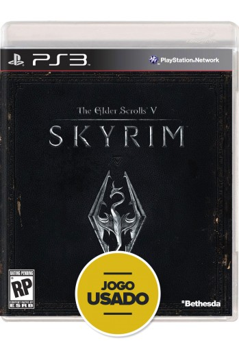 The Elder Scrolls V - Skyrim (seminovo) - PS3