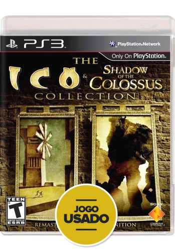 Ico and Shadow of the Colossus Collection - PS3 ( Usado )