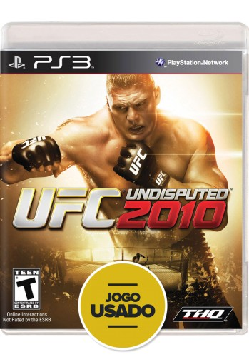 UFC Undisputed 2010 (seminovo) - PS3