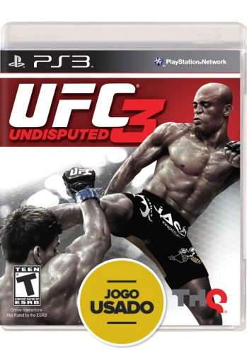UFC Undisputed 3 (seminovo) - PS3
