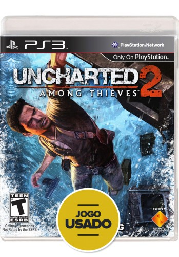 Uncharted 2: Among Thieves (seminovo) - PS3