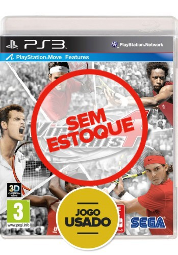 Virtua Tennis 4 (seminovo) - PS3