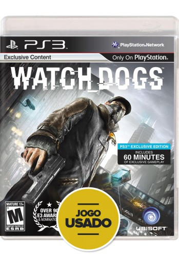 Watch Dogs (seminovo) - PS3