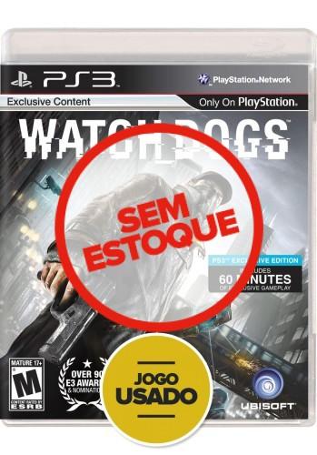 Watch Dogs (seminovo) - PS3