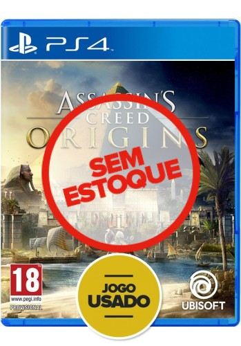 Assassin's Creed Origins - PS4 (Usados)