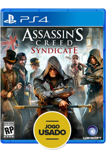 Assassins Creed: Syndicate - PS4 ( Usado )