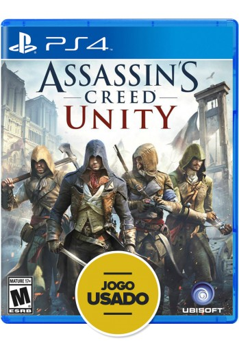 Assassin's Creed Unity - PS4 ( Usado )