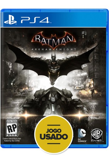 Batman: Arkham Knight - PS4 ( Usado )