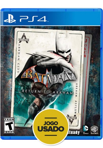 Batman Return to Arkham - PS4 (Usado)