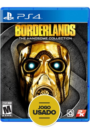 Borderlands The Handsome Collection - PS4 ( Usado )