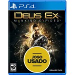 Deus Ex - Mankind Divided - PS4 (Usado)