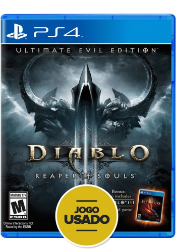 Diablo 3: Ultimate Evil Edition - PS4 ( Usado )