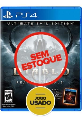 Diablo 3: Ultimate Evil Edition - PS4 ( Usado )