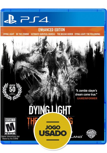 Dying Light - The Following - PS4 (Usado)