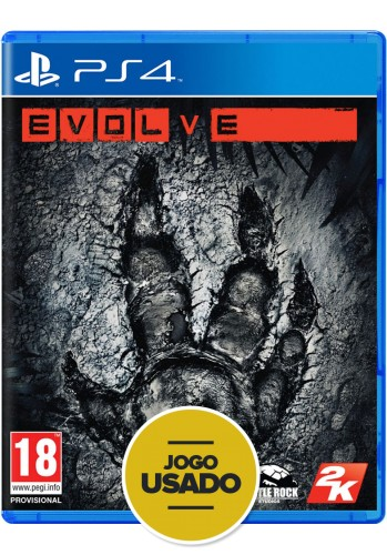 Evolve (seminovo) - PS4