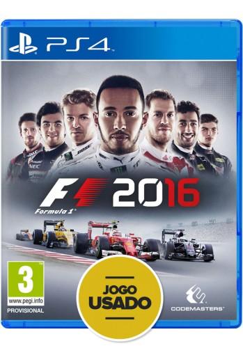 Formula 1 2016 - PS4 ( Usado )
