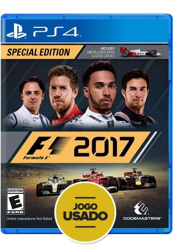 FORMULA 1 2017 - F1 - PS4 (Usados)