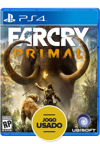 Far Cry Primal - PS4 ( Usado )