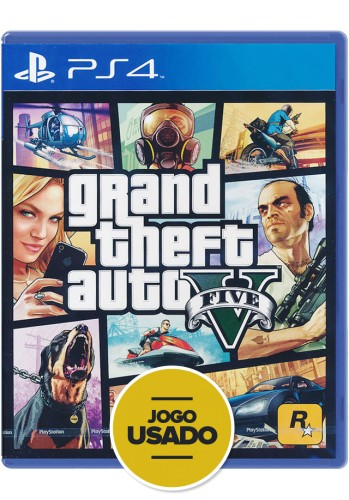 GTA V: Grand Theft Auto - PS4 ( Usado )