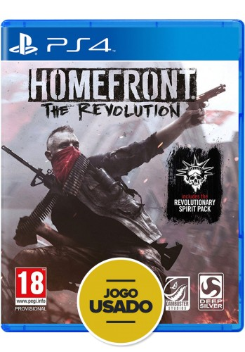 Homefront: The Revolution - PS4 (Usado)