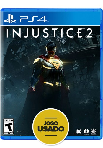 Injustice 2 - PS4 ( Usado )