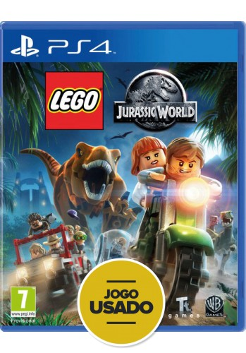 Lego Jurassic World - PS4 ( Usado )