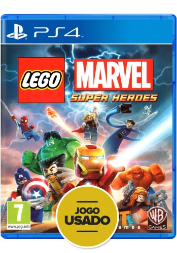 Lego Marvel Super Heroes (seminovo) - PS4