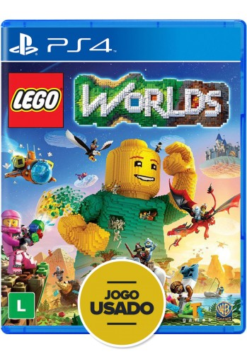 Lego Worlds - PS4 (  Usado )