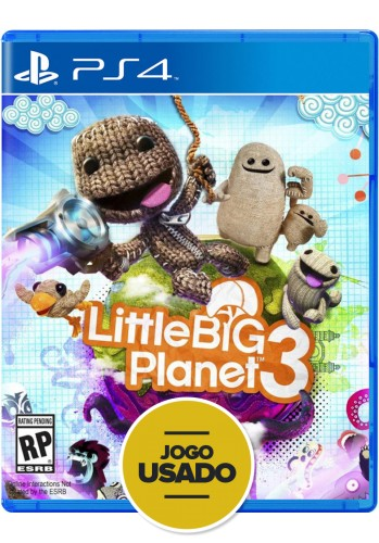 Little Big Planet 3 - PS4 ( Usado )
