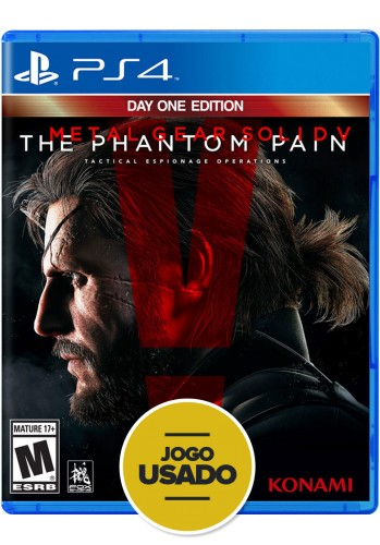 Metal Gear Solid V: The Phantom Pain (seminovo) - PS4