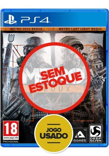 Metro Redux - PS4 (Usado)