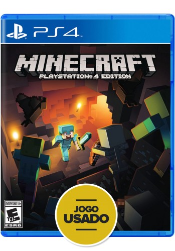 Minecraft Playstation 4 Editon - PS4 ( Usado )