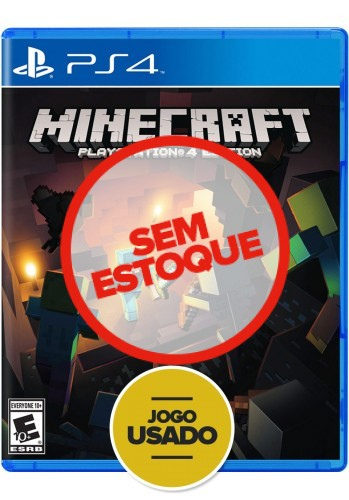Minecraft Playstation 4 Editon - PS4 ( Usado )