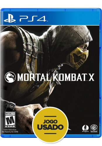 Mortal Kombat X - PS4 ( Usado )