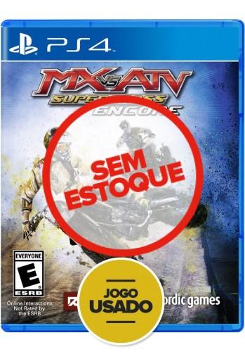 MX vs ATV: Supercross Encore - PS4 (Usado)