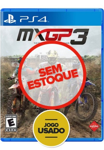 MXGP 3: O jogo oficial de Motocross - PS4 (Usado)