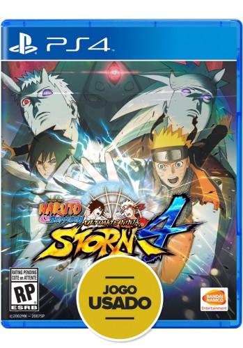 Naruto Shippuden: Ultimate Ninja Storm 4 - PS4 ( Usado )