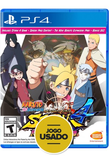 Naruto Shippuden: Ultimate Ninja Storm 4 Road to Boruto - PS4 (Usado)