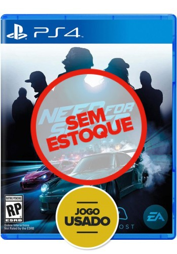 Need For Speed - PS4 ( Usado )