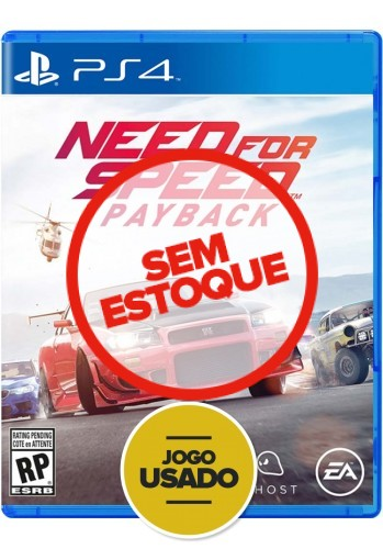 Need for Speed Payback - PS4 (Usado)